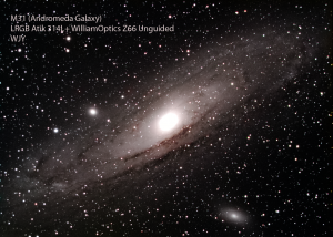 M31 with info